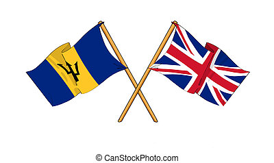 United Kingdom and Barbados - alliance and friendship -...