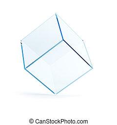 empty display case, 3d render