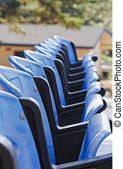 Blue Seats at Ball Park