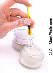botox cream with syringe - rejuvenating botox cream with...