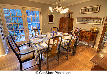 Dining Room - Interior of a residential dining room