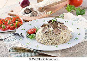 trufa,  risotto