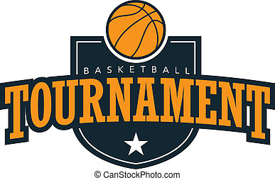 Basketball Tournament - A crest style design for basketball...