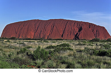 Uluru Ayers Rock Australia Red rocks