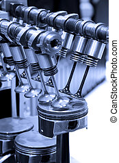 Engine details - Piston and cylinder details of internal...