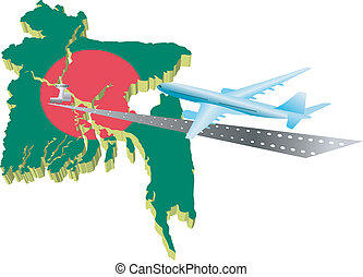 Air travel in Banglades