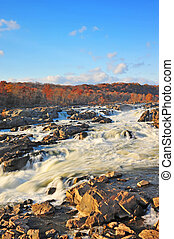 Great Falls Maryland in Autumn