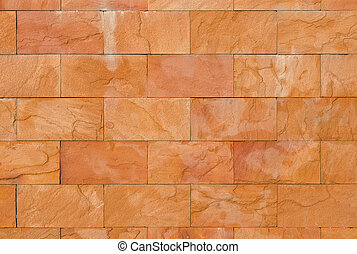 decorate sand stone wall - Background of decorate sand stone...