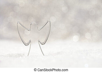 angel cookie cutter with beautiful