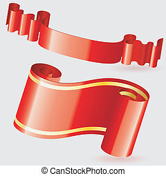 Scroll Ribbon