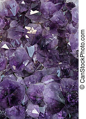 mineral precious purple with very reflective and sparkling...