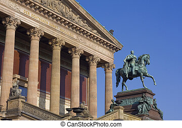 Alte Nationalgalerie in Berlin - Alte Nationalgalerie on...