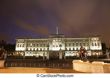 Buckingham Palace at Night - Buckingham Palace has served as...