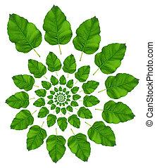 Leafs - Green Leaf Pattern