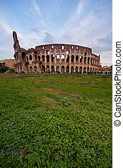 Coliseum - Colosseo - Image of Romes coliseum famous ancient...