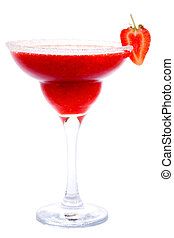 Frozen Strawberry Daiquiri - Frozen strawberry daiquiri or...