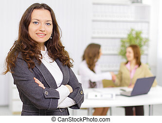 Successful business woman - Successful business woman...