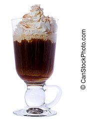 Irish Coffee - Irish coffee isolated on white background