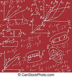 formulas - background with formulas, number equation