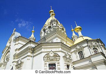 temple in Sevastopol - Pokrovskij temple in Sevastopol City...
