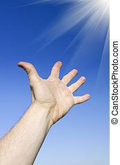 Reach to sun. Conceptual design.