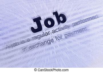 Job conception text