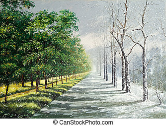 Inverno, verão