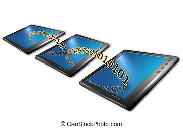 tablet computers with wireless connections