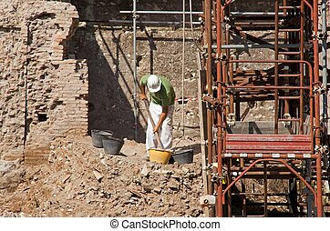 archaeological excavations (Rome)