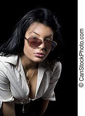 Sexy Woman with dekolte