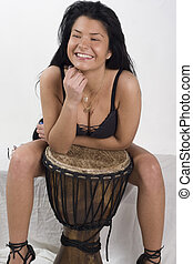 djembe and smile