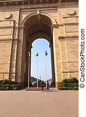 famous india gate in Delhi