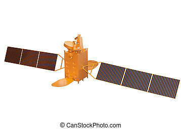 Telecommunication Satellite - Model of the Telecommunication...