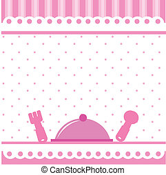 food and drink kitchen background for birthdays and parties