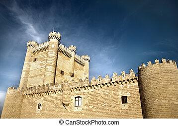 Castle of Valladolid, Spain - Castle of  Valladolid, Spain
