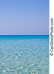 horizon - Blue Sea at Lampedusa - Sicily