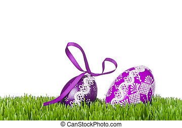 蛋, 草, 復活節
