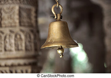 Ranakpur Jain Temple - one of the holy bells in the Jain...