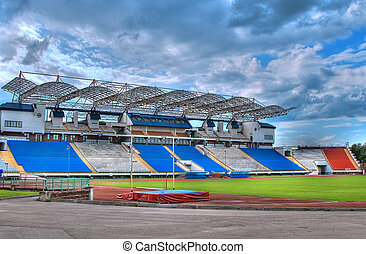 stadium - Football stadium in Vitebsk, Belarus