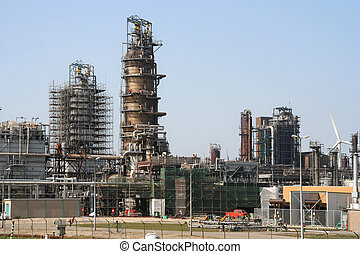 Oil Refinery - Oil refinery in Rotterdam Europoort