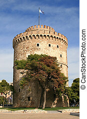 white tower - The white tower at greece