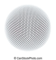 spherical abstraction - 3d isolated spherical abstraction