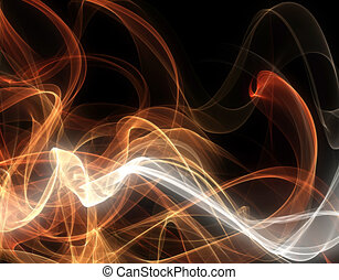 abstract blurry design - abstract illustration with swirls,...