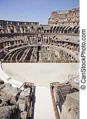roman coliseum - image of the famouse roman coliseum where...