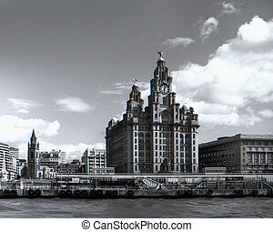 Liverpool Sea front