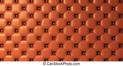 Picture of genuine leather upholstery - Sepia picture of a...