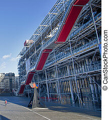 Centre Pompidou in Paris, France