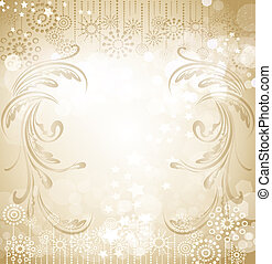 Vector beige holiday background