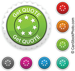 Get quote award.