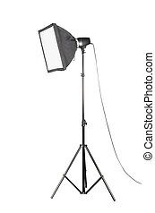 Softbox | Isolated - Small softbox 45cm X 45cm and portable...